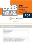 2015 B2B Research