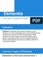 dementia and senility