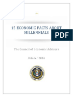 "Millennials ""15 Economic Facts about Millennials""Report"
