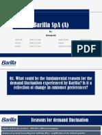 barilla spa case solution case barilla spa