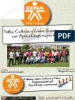 Taller Cultura y Clima Organizacional con Aprendizaje Experiencial.
