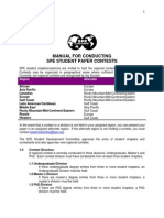 SPE Contest Manual