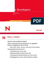 Dkms for Developers