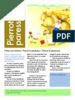 Pierrot Le Paresseux