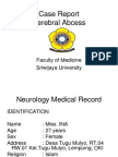 Cerebral abcess