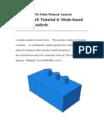 Tutorial 5 Mode-based