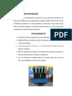 calculos y resultados tubos de reynold.docx
