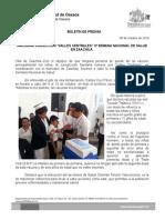 08 de octubre de 2014 INAUGURA JUIRSICCION VALLES CENTRALES EN ZAACHILA  3ª SEMANA NACIONAL DE SALUD..doc