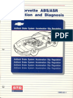 Corvette C4 ABS-ASR Operation and Diagnosis Manual