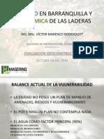 EL RIESGO EN BARRANQUILLA Y LA DINÁMICA DE LAS LADERAS.pptx