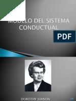 MODELO DEL SISTEMA CONDUCTUAL POR DOROTHY JHONSON.pptx