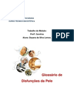 GLOSSÁRIO DAS DISFUNÇÕES ESTÉTICAS DA PEL E (1).docx