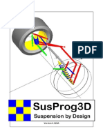 SusProg3D pdf   Suspension (Vehicle)   Automotive Industry