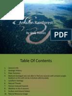 amazon jungle research initiative