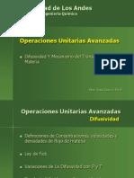 Difusividad y Mecanismo de Transporte de Materia.ppt