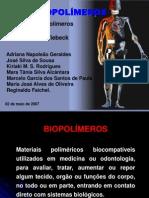 BIOMATERIAIS POLIMERICOS.ppt