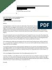 Olaf Amundsen's redacted emails