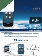 Enterprise PushMail Mobiledesk - Samsung SDS