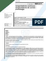 NBR 06177 - Transportadores Contínuos - Transportadores de Correia - Terminologia