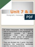 Unit 7 & 8