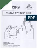 Kliping Berita Perumahan Rakyat, 9 Oktober 2014