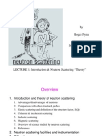 Intro to Neutron Scattering