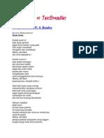 Kumpulan Puisi W