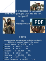 U.S Weapon Sales