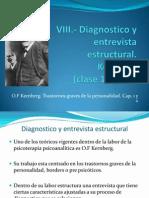 11ra clase de PD1 - Clasificacion de los Transtornos de Personalidad y entrevista Estructural, Kernberg. 1984 y 2004.pptx