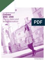Kings UKAcademicPricesAndDates2014 15