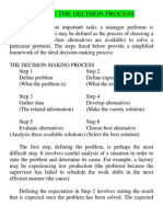 7.Steps in the Decision Process