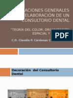 Consideraciones generales para la elaboración de un Consultorio.pptx