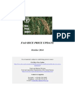 FAO Rice Price Update October2014.pdf