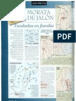 Croquis de Escalada en Morata de Jalon