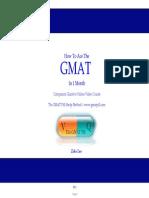 GMAT Pill E-book