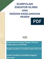 Kumpulan Indikator Klinis & Insiden Keselamatan Pasien (IKP).pdf