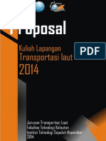 Proposal Kuliah Lapangan Transportasi Laut ITS