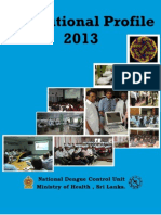 Institutional Profile of 2013 -  National Dengue Control Unit