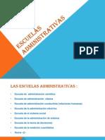 ESCUELAS ADMINISTRATIVAS.pptx