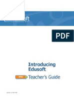 EDUSOFT TEACHERS GUIDE