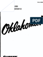 Oklahoma Musical Score