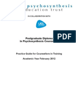 Practice Guide for Counsellors in Training Feb 2012-2
