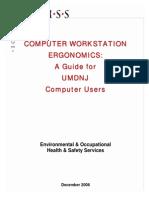 Computer Ergonomics Guide