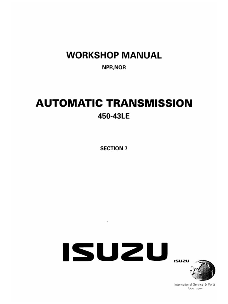 AUTOMATIC TRANSMISSION_ISUZU
