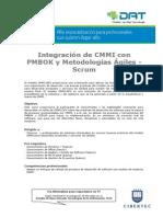Integraciøn de CMMI con PMBOK y Metodolog¡as µgiles - Scrum.pdf