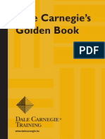 Dale Carneige - Golden Book