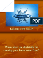 Lessons From Water