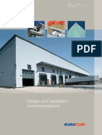 Euroclad Guide to Design and Installation of Trapezoidal Systems