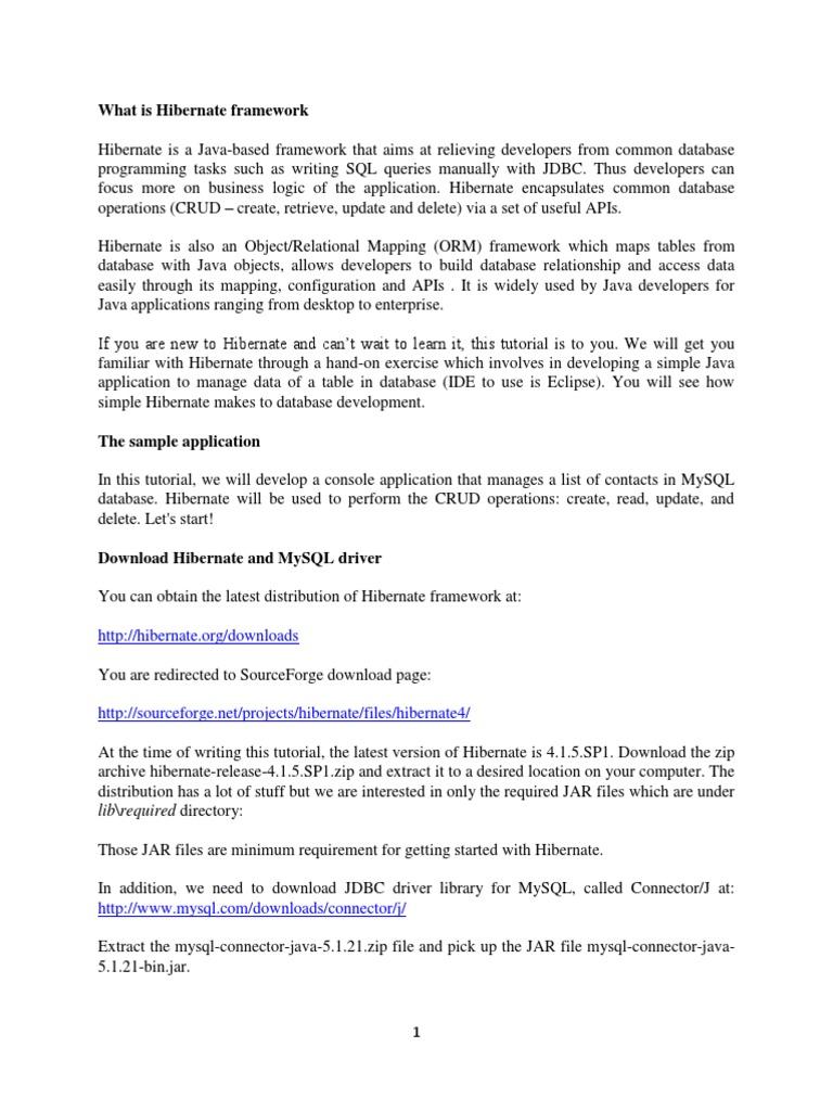 Hibernate Framework Notes | Database Transaction | Databases