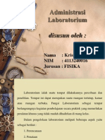 Pengadministrasian Lab